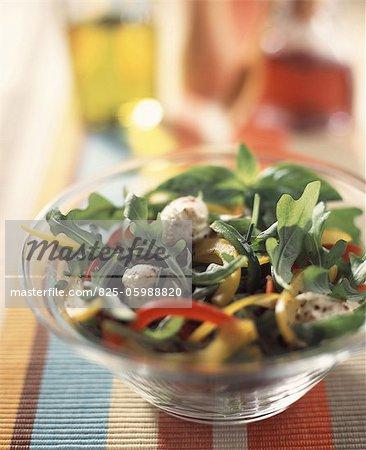 Mixed pepper salad