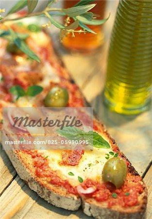 Italien open sandwich