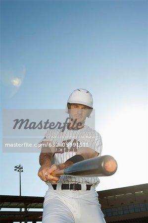 Balancement batte de baseball player