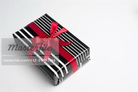 Festlich verpackte Geschenk