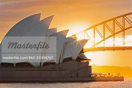 Australie, Nouvelle-Galles du Sud, Sydney, Sydney Opera House,