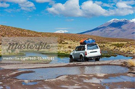 Excursion 4x4 en Amérique du Sud, Bolivie, sur l'altiplano