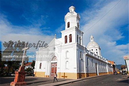 South America, Ecuador, Cuenca, San Sebastian church, Historic Centre of Santa Ana de los Ríos de Cuenca, Unesco World Heritage Site