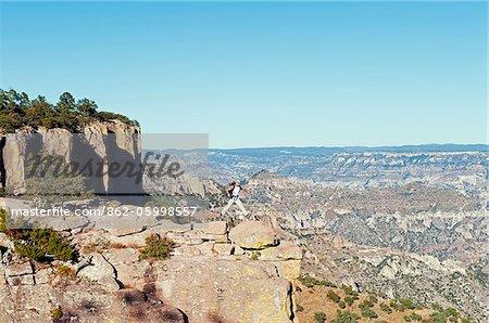 État de Chihuahua, le Mexique, l'Amérique du Nord, Creel, Barranca del Cobre, Copper Canyon (MR)