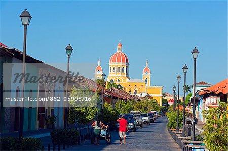 Central America, Nicaragua, Granada, Granada Cathedral, (1583, rebuilt in 1915)