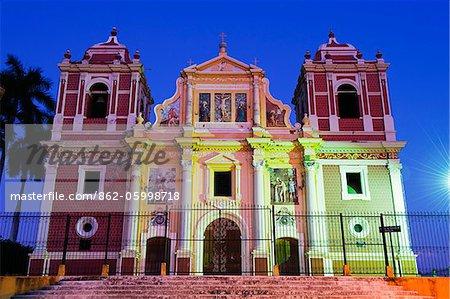 Central America, Nicaragua, Leon, Igelsia el Calvario