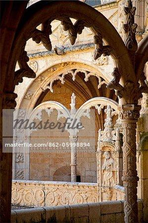 Mosteiro dos Jerónimos, monastère des Hiéronymites, gothique tardif période, Belém, Lisbonne