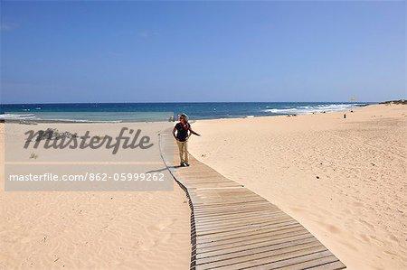 Corralejo beach. Fuerteventura, Canary island