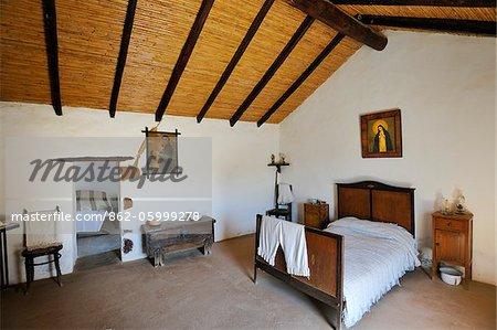 Maison traditionnelle de La Alcogida, Tefia. Fuerteventura, îles Canaries