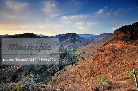 Barranco de Fataga. Gran Canaria, îles Canaries