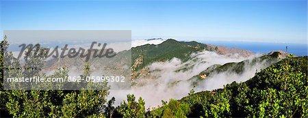 Montagnes d'Anaga parc Rural. Tenerife, îles Canaries