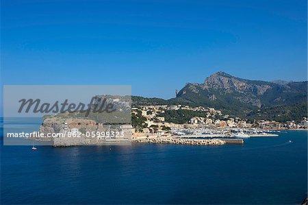 Port de Soller, Mallorca, Balearen, Spanien