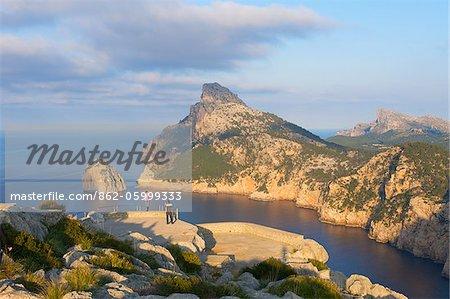 Miirador des Colomer, Cap Formentor, Mallorca, Balearen, Spanien