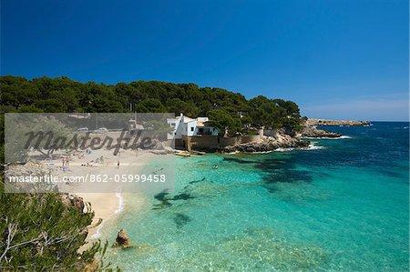 Cala Gat in Cala Ratjada, Mallorca, Balearen, Spanien