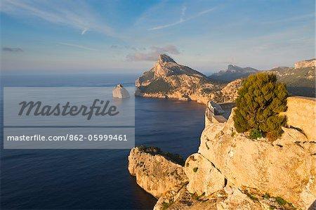 Mirador des Colomer, Cap Formentor, Mallorca, Balearen, Spanien