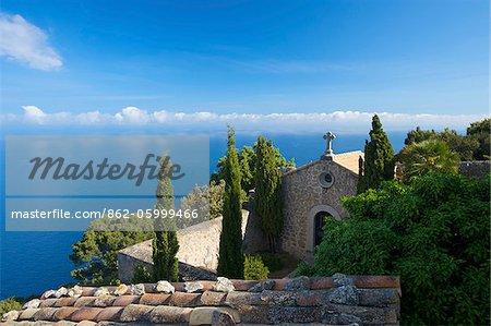 Chapelle Eremita de Santissima Trinitat près de Valldemossa, Majorque, îles Baléares, Espagne