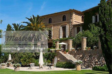 Hotel La Residencia, Deia, Deya, Majorca, Balearic Islands, Spain