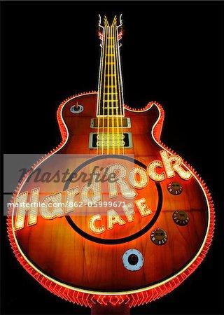 États-Unis d'Amérique, Nevada, Las Vegas, Hard Rock Cafe