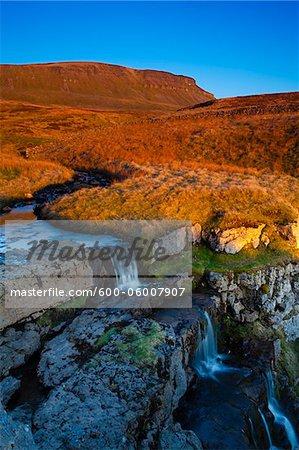 Kalkstein-Doline, Horton Moor, Yorkshire Dales, Yorkshire, Yorkshire und Humber, England