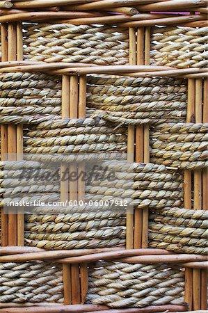 Rattan Basket Weave