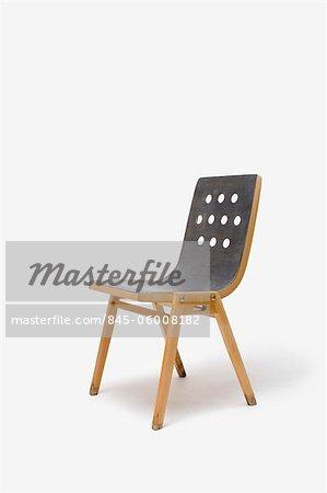 Stacking Chair, Austrian. Designer: Roland Rainer