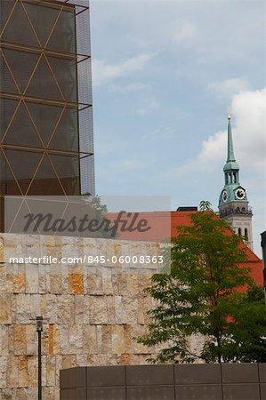 Ohel Jakob Synagogue, St Jakobs Platz, Munich. Architects: Rena Wandl Hoefer and Wolfgang Lorch