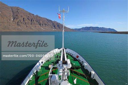 Expedition Schiff, Romer Fjord, Grönland