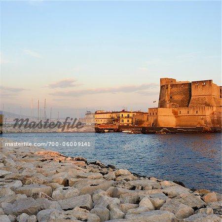 Castel dell ' Ovo, Naples, Campanie, Italie