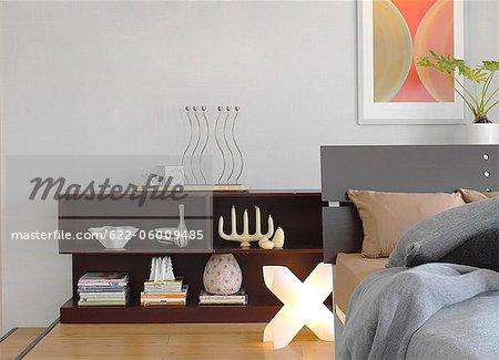 Contemporary Style Bedroom Interior