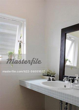 Interieur des modernen Badezimmer