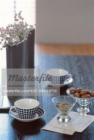 Table à café thé et Snacks
