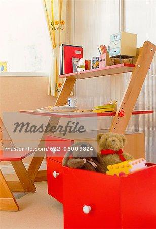 Teddy In Drawer