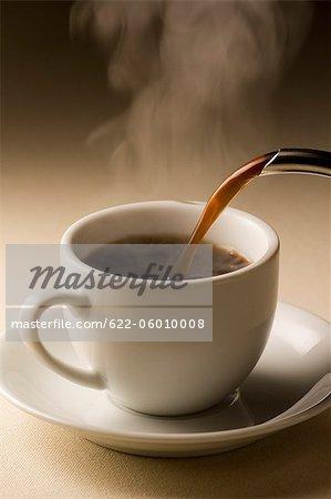 Tasse heißes Getränk