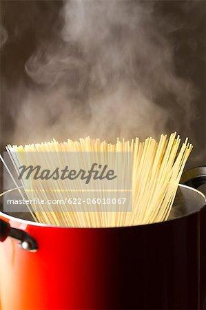 Steaming Spaghetti