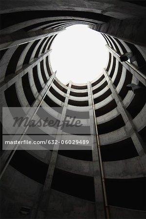 Atrium, low angle view
