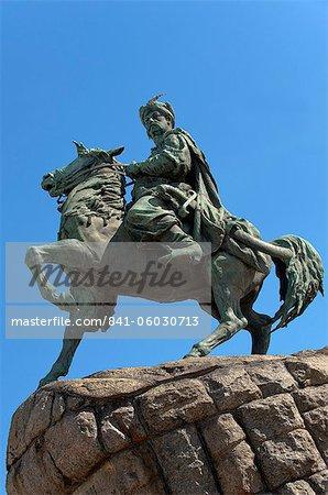 Bogdan Khmielnitsky Statue, Sofia Square, Kiew, Ukraine, Europa