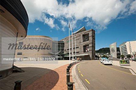 Te Papa museum, Wellington, North Island, Nouvelle-Zélande, Pacifique