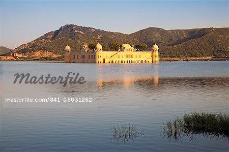 La Jai Mahal (Palais de lac), Jaipur, Rajasthan, Inde
