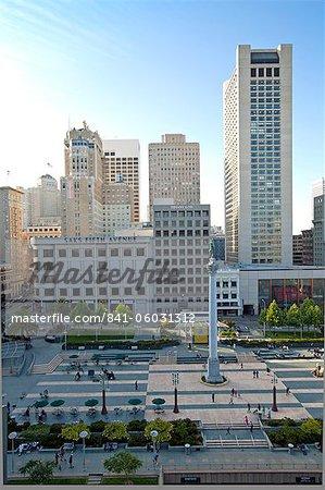 Union Square, Downtown, San Francisco, California, United States of America, North America