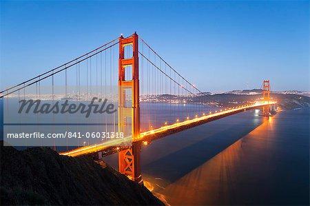 Golden Gate Bridge, San Francisco, Californie, États-Unis d'Amérique, l'Amérique du Nord