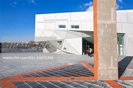 Extérieur du nouveau bâtiment Herta et Paul Amir du Tel Aviv Museum of Art, Tel Aviv, Israël, Moyen-Orient