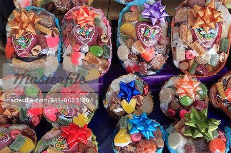Traditionnel mexicain Amérique du Nord de bonbons et de friandises, Puebla, centre historique, état de Puebla (Mexique),