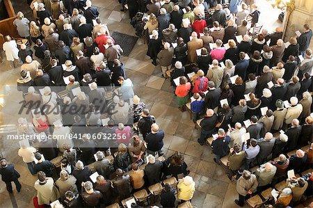 Messe à Saint-Eustache church, Paris, France, Europe