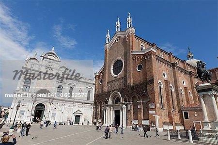 The Basilica di San Giovanni e Paolo, Venice, UNESCO World Heritage site, Veneto, Italy, Europe