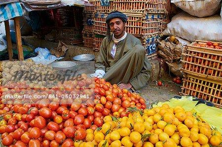 Markt von Aswan, Ägypten, Nordafrika, Afrika