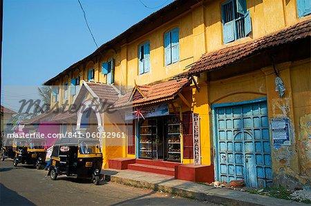 Gewürze-Bereich, Fort Cochin (Kochi), Kerala, Indien, Asien