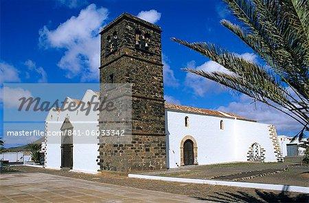 Church of Nuestra Senora de la Candelaria, La Oliva, Fuerteventura, Canary Islands, Spain, Europe