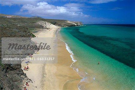 Mal Nombre beach, near Costa Calma, Fuerteventura, Canary Islands, Spain, Atlantic, Europe