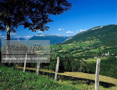 Montagnes des Bauges, près d'Annecy, Rhone Alpes, France, Europe