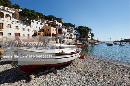 Sa Tuna, in der Nähe von Begur, Costa Brava, Katalonien, Spanien, Mittelmeer, Europa